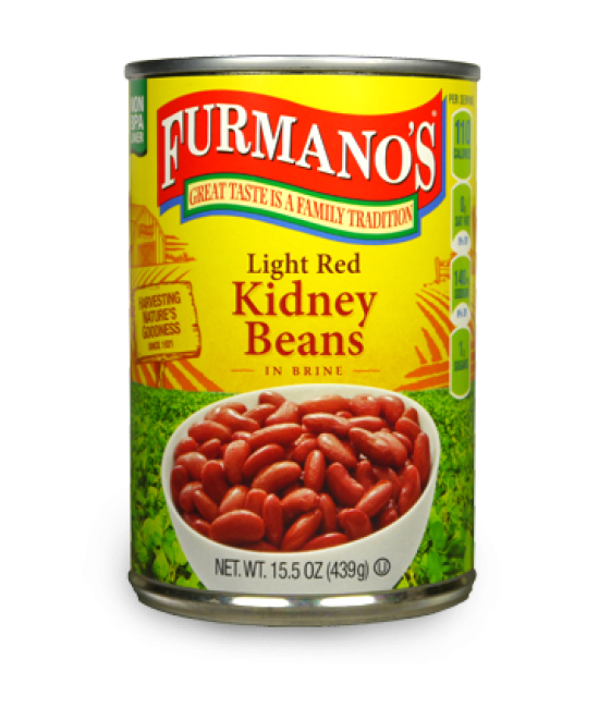 Light Red Kidney Beans 24/15oz