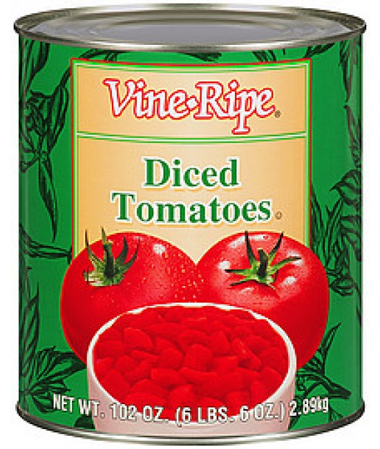 Tomatoes Diced 6/10