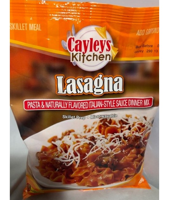 Lasagna Dinner Pouch 24/5.6oz