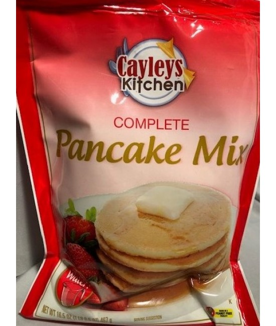 Pancake Mix Pouch 18/16.5oz