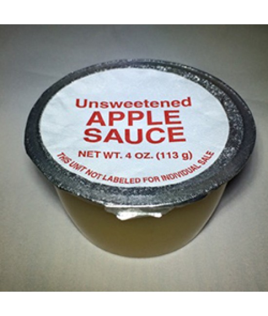 Fruit Cups: Applesauce Cups 96/4.5oz  (Flavored Available)