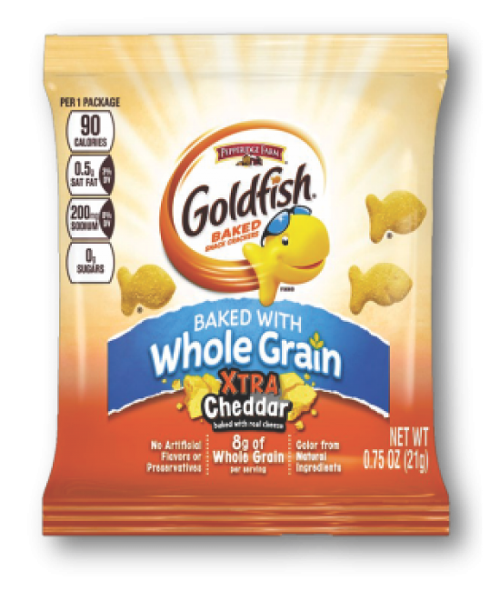 Whole Grain Xtra Cheddar Goldfish 300ct