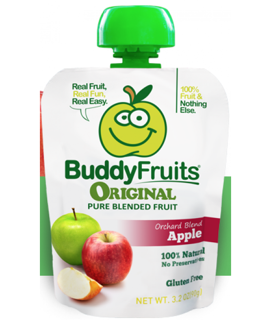 BuddyFruits® Original Orchard Blend Apple 100/4.1oz