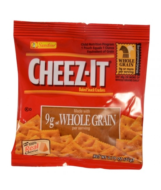 Cheez-It Whole Grain Crackers 175/.75oz