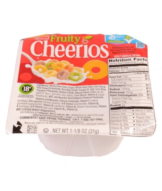 Fruity Cheerios™ Bowlpak Cereal