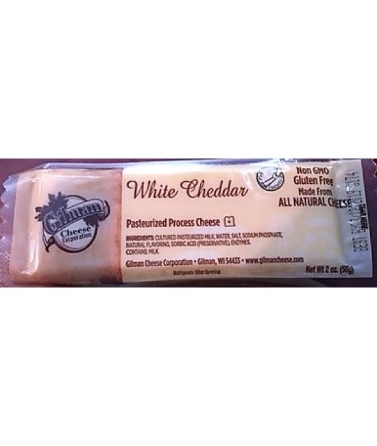 Gillman Shelf Stable Natural Cheddar Cheese Sticks