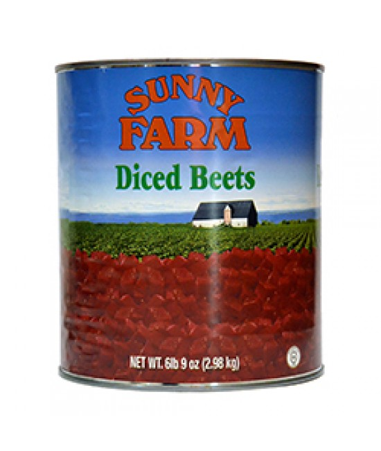 Beets Diced 6/10
