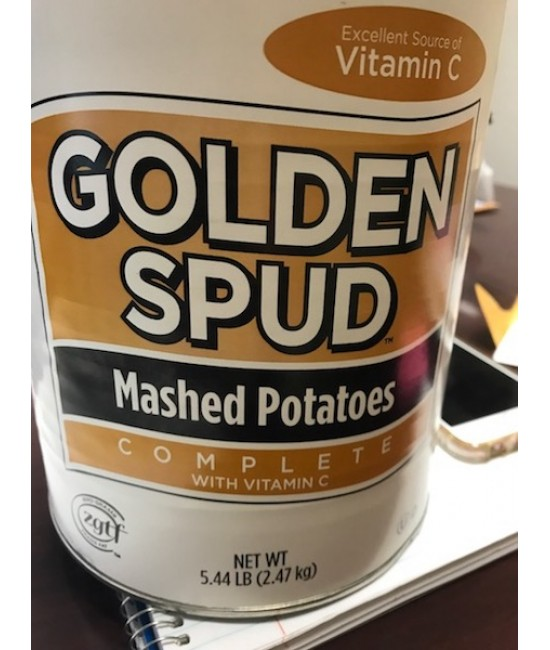Golden Spud Mashed Potatoes 6/10