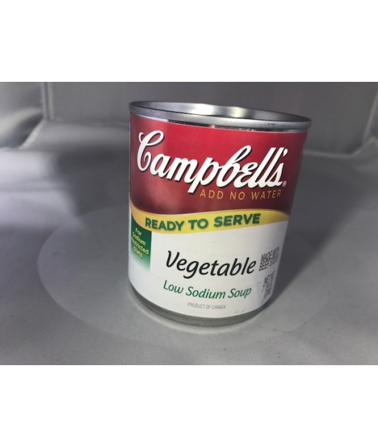 Campbells Low Sodium Vegetable Soup 24/7.25 oz