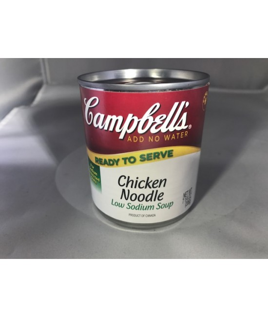 Campbells Low Sodium Chicken Noodle Soup 24/7.25 oz