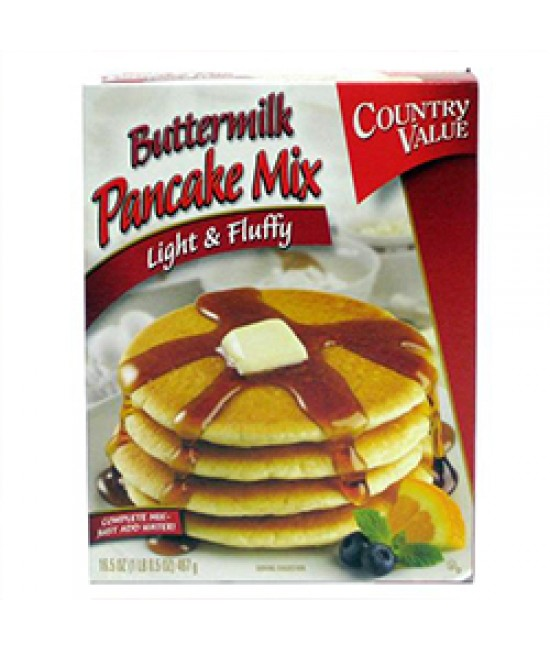 Pancake Mix Buttermilk 12/16.5oz