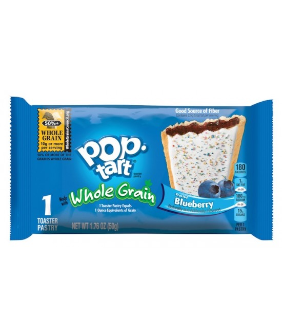 Kellogg's WG Blueberry PopTart 120/1.76 oz