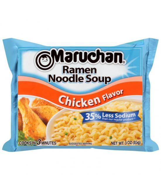 Ramen Noodles 35% Less Sodium Assorted Flavors 24/3oz