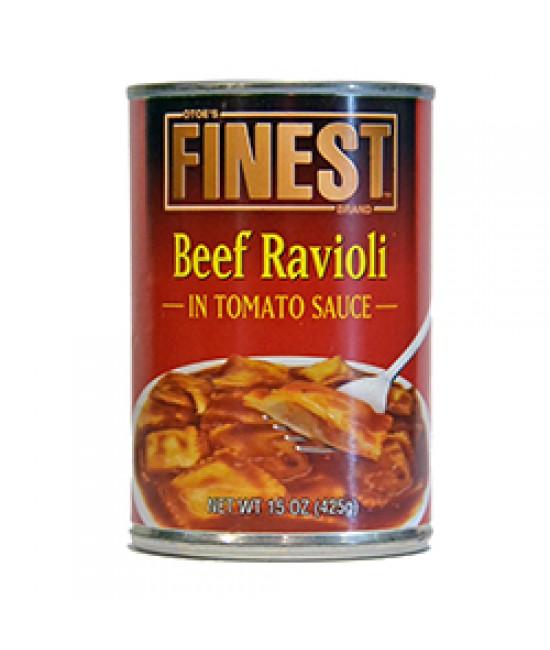 Beef Ravioli 24/15oz