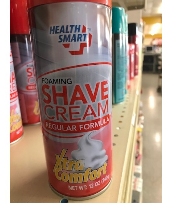 Healthsmart Shaving Cream 12/12oz