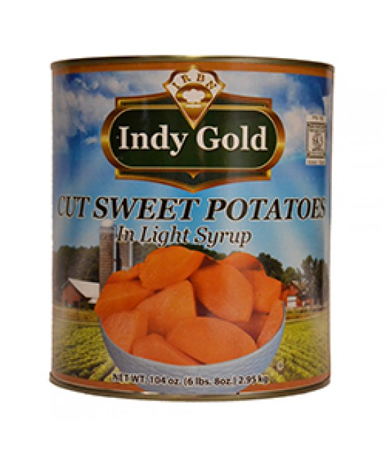 Sweet Potatoes Cut 6/10
