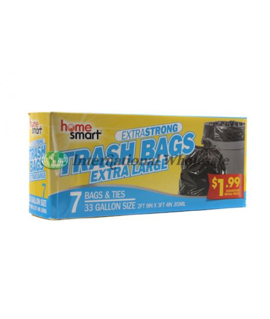Trash Bags 33gal 12/7
